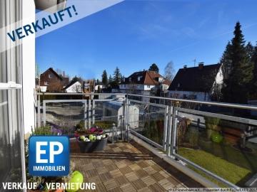 VERKAUFT – 3-Zi-ETW: Grüne Ruheoase in Bestlage von Waldtrudering, 81827 München, Etagenwohnung