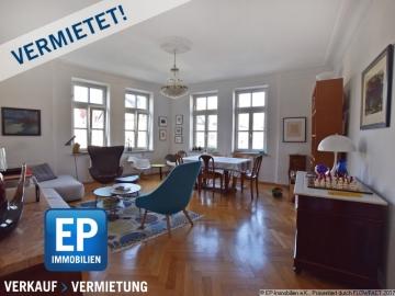 VERMIETET – Großzügig geschnittene 3-Zimmer-Wohnung im denkmalgeschützen Altbau, 80796 München, Etagenwohnung