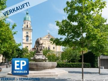 VERKAUFT! Sommer in der Stadt – Bezugsfreie 2,5 Zimmerwohnung am Josephsplatz!, 80798 München, Erdgeschosswohnung